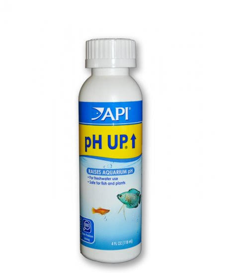 API PH Up Raises Aquarium pH - Water Conditioner