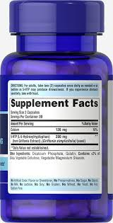 5 htp 100 mg griffonia simplicifolia 60 capsules sleep