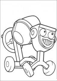 Dizzy Bob The Builder Coloring Sheets