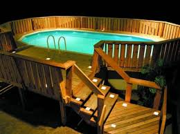 Above Ground Pool Ladder Deck Attachment by Three Solutions For Sprucing Up An Above Ground Pool Ground