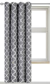 Gray Ombre Curtains Target by Printed Blackout Room Darkening Printed Curtains Window Panel