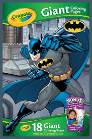 Crayola Marvel Batman Giant Coloring Pages