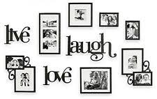 Item 1 Live Love Laugh Picture Frame Set 10 Piece Wall Decor Various Sizes WallVerbs