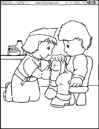 Fresh Nurse Coloring Pages Best And Awesome Ideas