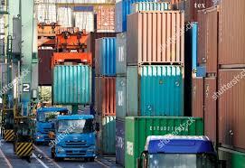 100 Surplus Trucks Containers Unloaded Trucks Aomi International Cargo Terminal