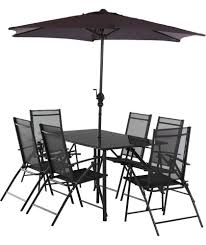 Black Round Garden Table And Chairs White Oak Set For ...