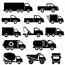 100 Icon Trucks Icon Set Stock Vector Soleilc 40366133