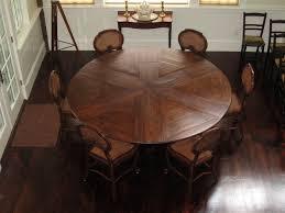 amazing round expandable dining table