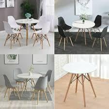 esstisch mit 4 stühlen 80x70cm küchentisch esszimmertisch