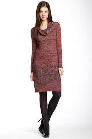 max studio cowl neck sweater dress nordstrom rack