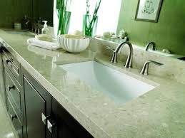 choosing bathroom countertops hgtv