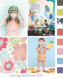DesignOptions SS17 Color Report On WeConnectFashion Childrens Girls Mood Details Hot Tropics Playroom IdeasKid Playroom2017 Fashion