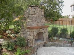 The Big Outdoor Fireplace Ideas