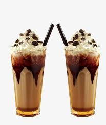Ice Cream Coffee 2 Cups Fancy PNG And PSD