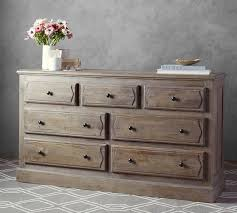 linden wood paneled extra wide dresser pottery barn