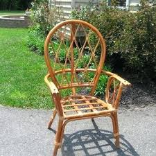 Vintage Rattan Furniture Chair Wicker For Sale