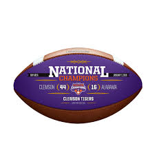 College Football Playoff Commemorative Leather Championship Football