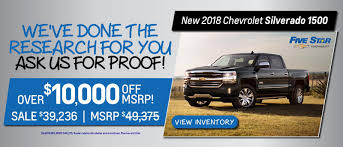 Five Star Chevrolet In Florence, SC | Chevrolet Dealership Near ...