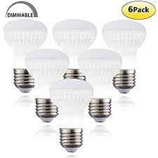 pack of 4 br16 r16 led light bulb e17 base 5w equivalent to 60