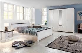 southton schlafzimmer set 4 teilig kiefer massiv weiss lasiert braun günstig möbel küchen büromöbel kaufen froschkönig24