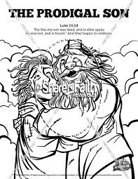 The Prodigal Son Sunday School Coloring Pages