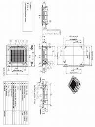 Ceiling Cassette Mini Split by Lg Lc247hv Ceiling Cassette Heat Pump Ductless Mini Split Ac