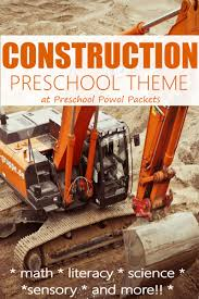 100 Construction Trucks Names Preschool Theme Preschool Activities