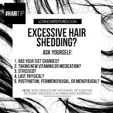 excessive hair shedding causes excessive hair shedding and how to combat it lovin our textures