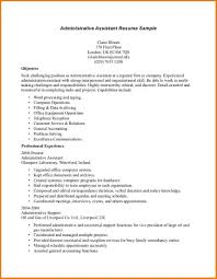 administrative assistant resume sle executive administrative