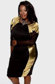 black and gold party dress plus size naf dresses