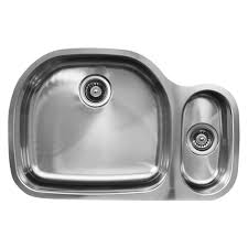 Overstock Stainless Steel Kitchen Sinks by Ukinox D537 80 20 8l 80 20 Double Basin Stainless Steel Undermount