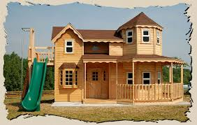 Photo Of Big Playhouse For Ideas by Wooden Outdoor Playhouse For Woodmanor Playhouses