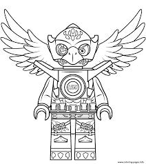 Lego Chima Eagle Eris Coloring Pages