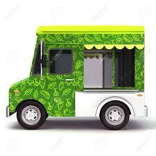 100 Green Food Truck Eco Green Food Truck Side