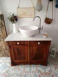 antiker waschtisch kommode landhaus waschbecken unterschrank bad