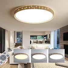 hil moderne führte runde decke der goldene wohnzimmer