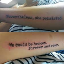 Girlytattoos Femaletattooartist Armtattoos Quotestoliveby Bangers