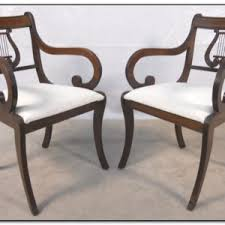 Lyre Back Chairs Antique by Antique Harp Back Dining Chairs Chairs Home Design Ideas