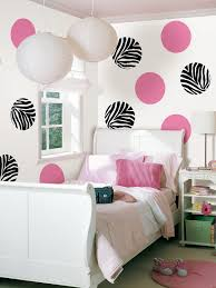 Bedroom Awesome Decorating Ideas Using Round White Lampions And Rectangular Wooden Headboard Beds In