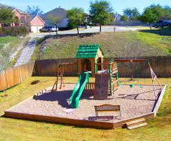 Pea Gravel Patio Plans by Pea Gravel Play Area In Backyard Everlast Contracting Co