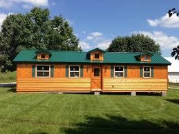 14x40 Cabin Floor Plans by 14x40 Whitetail Modular Cabin Craftsman Exterior Louisville