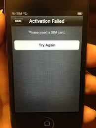 Can I activate with no SIM card iPhone iPad iPod Forums at