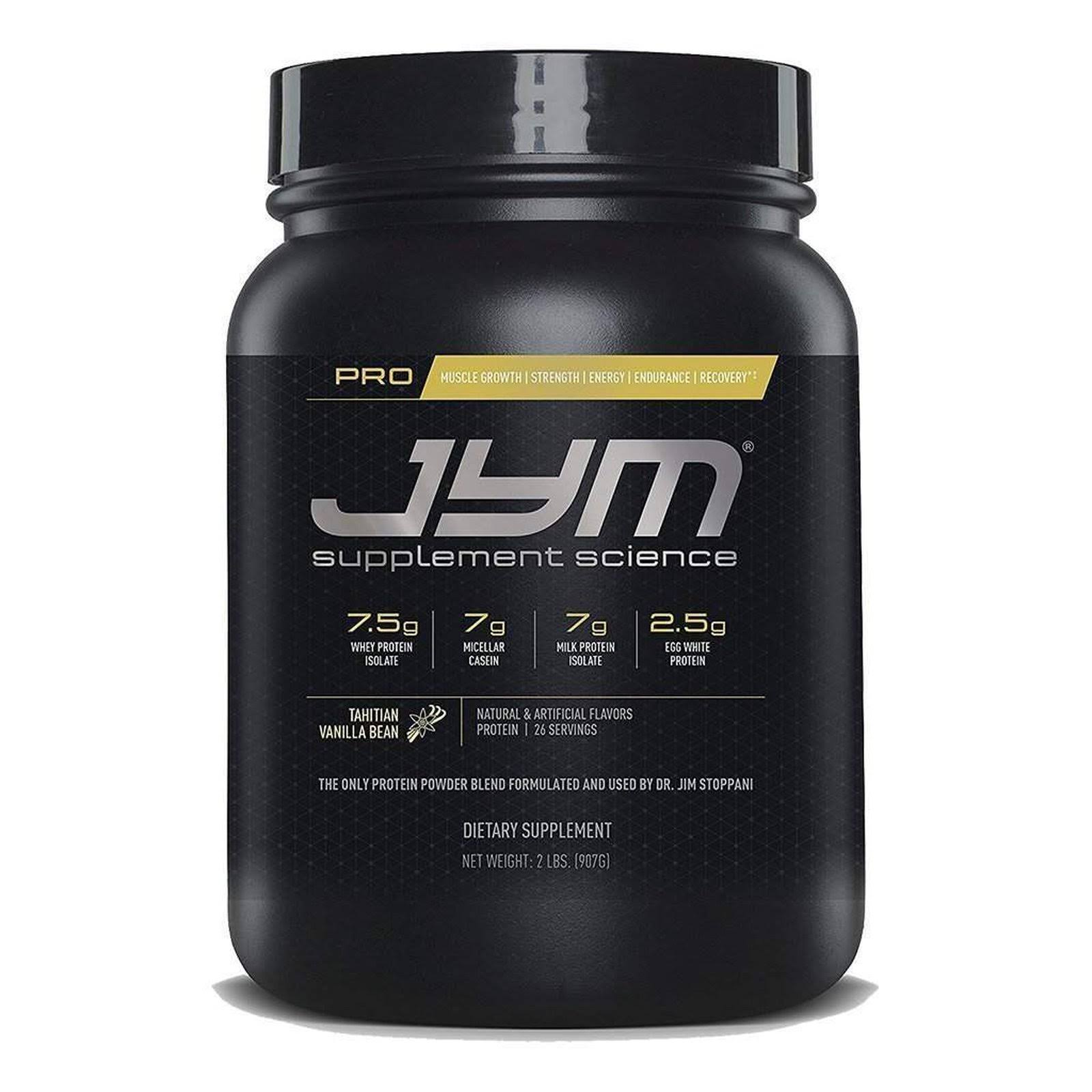 JYM Supplement Science Pro Optimal Blend Supplement - Tahitian Vanilla Bean, 2lbs