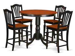 East West Trenton 5 Piece Counter Height Solid Wood Pub Table Set ... Antique Multicolor Counter Height 42inch Ding Table For The Amazoncom Luckyermore 5 Piece Set Bar Kitchen And Chairs Luxury Steve Silver 70 Off Crate Barrel Parsons High F2273 F1333 Bbs Fniture Store Delivery Estimates Northeast Factory Direct Cleveland Eastlake Red Studio Krull 9 Extendable Solid Wood Tables Home Decator Shop 10 Plus Unique Pub 30 Most Firstrate Black Pnic Style Coaster Ashland Fmg Local