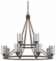 Savoy House 1 5152 12 32 Maverick Light 40 Inch Artisan Rust