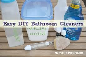 bathroom cleaners my frugal adventures