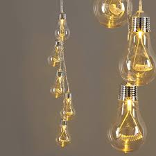 edison style five bulb cluster by lights4fun notonthehighstreet