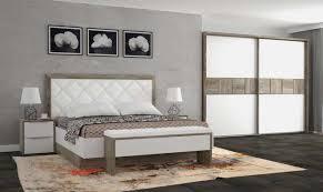 schlafzimmer weiß matt und braun