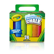100 Chalks Truck Parts Crayola Washable Sidewalk Chalk In Assorted Colors AntiRoll