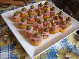 recette canapé facile les douceurs de genny canapés jambon olive sur petit biscuit